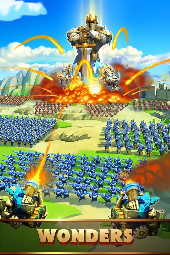 Lords Mobile: Battle of the Empires – Strategy RPG Screenshot